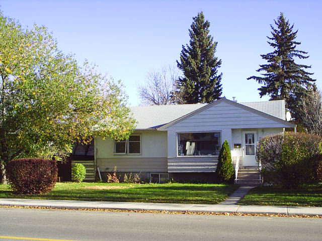 My house at 3036 Morley Trail, Calgary
