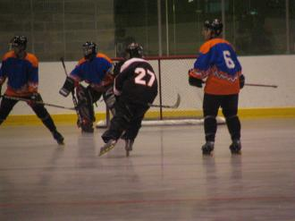 Me (Ryan Hellyer) in action for the Calgary Phantoms