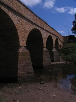 The oldest bridge in Tasmania
