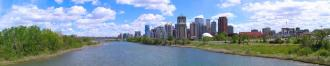 Panorama of the Calgary skyline