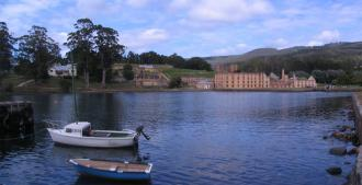 Port Arthur viewed from the jetty