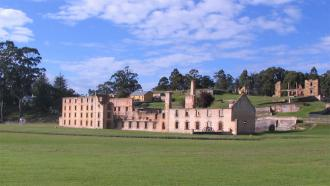 The ruins of Port Arthur
