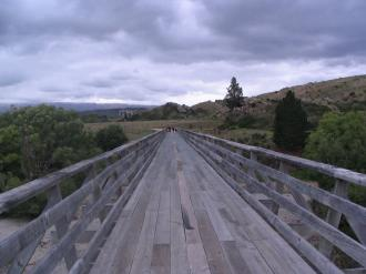 Bridge on the Central Otago Rail Trail