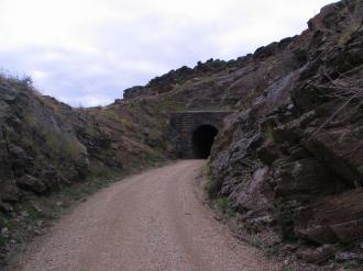 Tunnel on the Central Otago Rail Trail