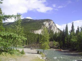 Tunnel Mountain at Banff