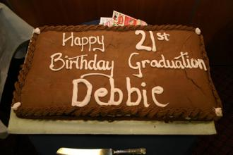 Debbie Jordan - birthday cake