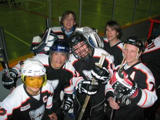 Calgary Phantoms team