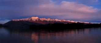Lake Wakatipu from Queenstown ice rink: Aardwolfs Ice Hockey Club Southern Migration