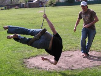 Rob Owens on swing #1
