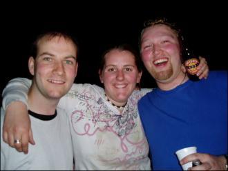 Three Ryans in one photo! Ryan Hellyer, Rhyan McMillan and Ryan Wick