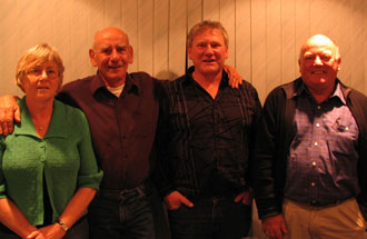 Robyn Reid, Ken Hellyer, David Hellyer, John Hellyer