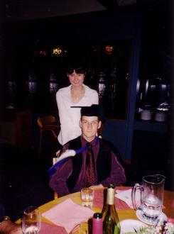 MSc Graduation - Ryan Hellyer and Michelle