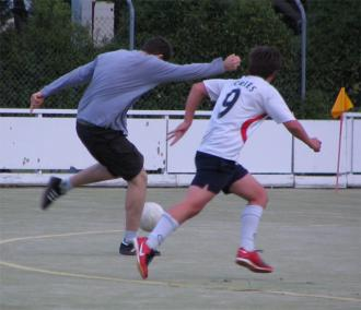 Frederick playing soccer #2