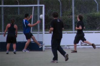 Nigel Alefosio in goal #1