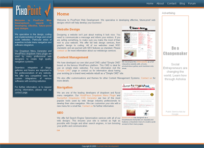 PixoPoint Web Development screenshot