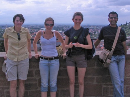 Sandra, Stephanie, Vicki, Vikas