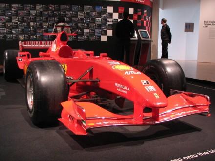Fellipe Massa's Ferrari F2004