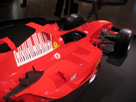 Fellipe Massa's Ferrari F2004