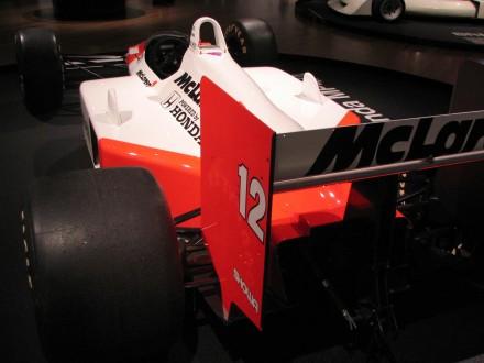 Ayrton Senna's McLaren Honda