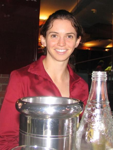 Vicki at Sals in Hobart