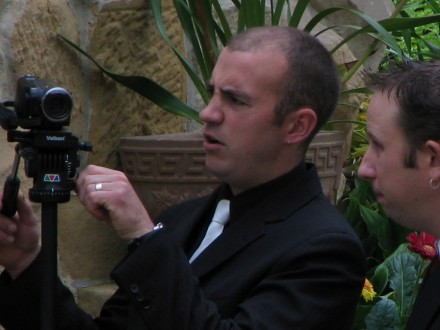 If only there was a videography expert in the family ...
