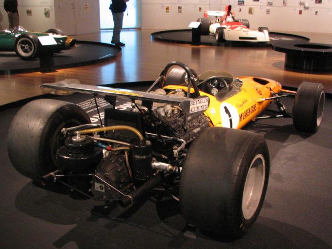 Denny Hulme's McLaren M7A