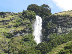 Water fall in West Matukituki valley