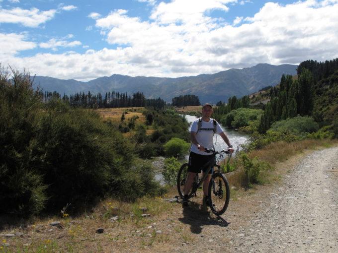 Cycling at Albert Town