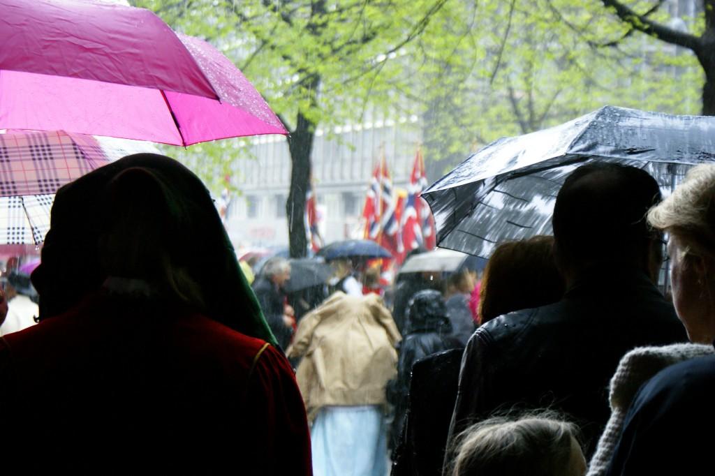 Rainy 17th of May