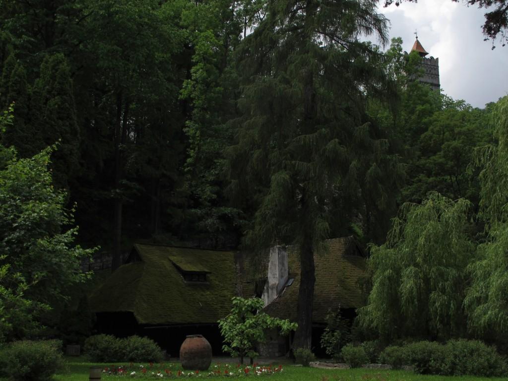 House below Bran castle