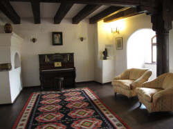 Room inside Bran's castle