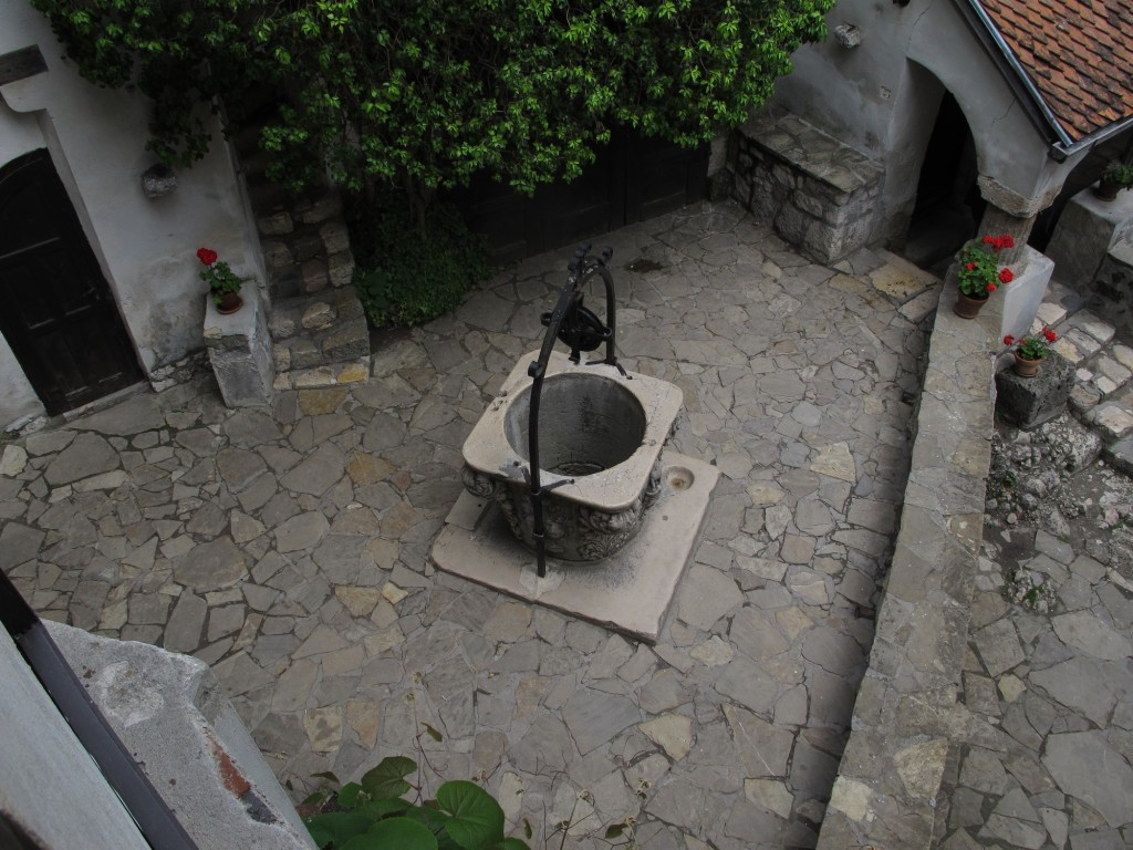 Well at Bran castle