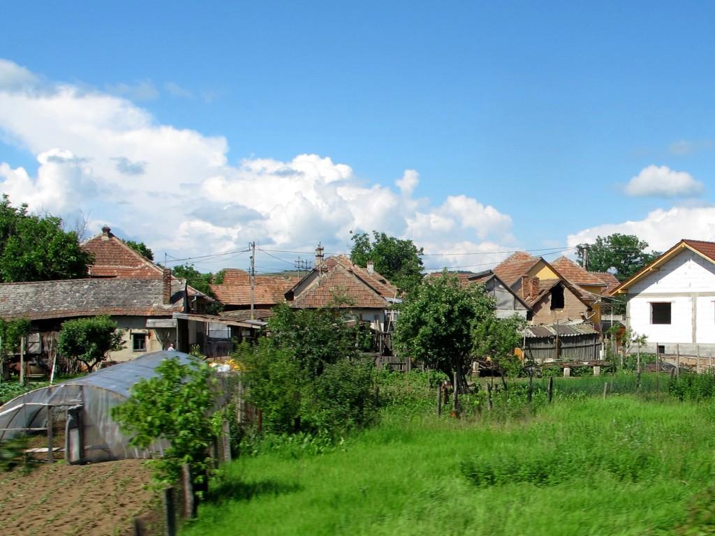 Rural Transylvanian town