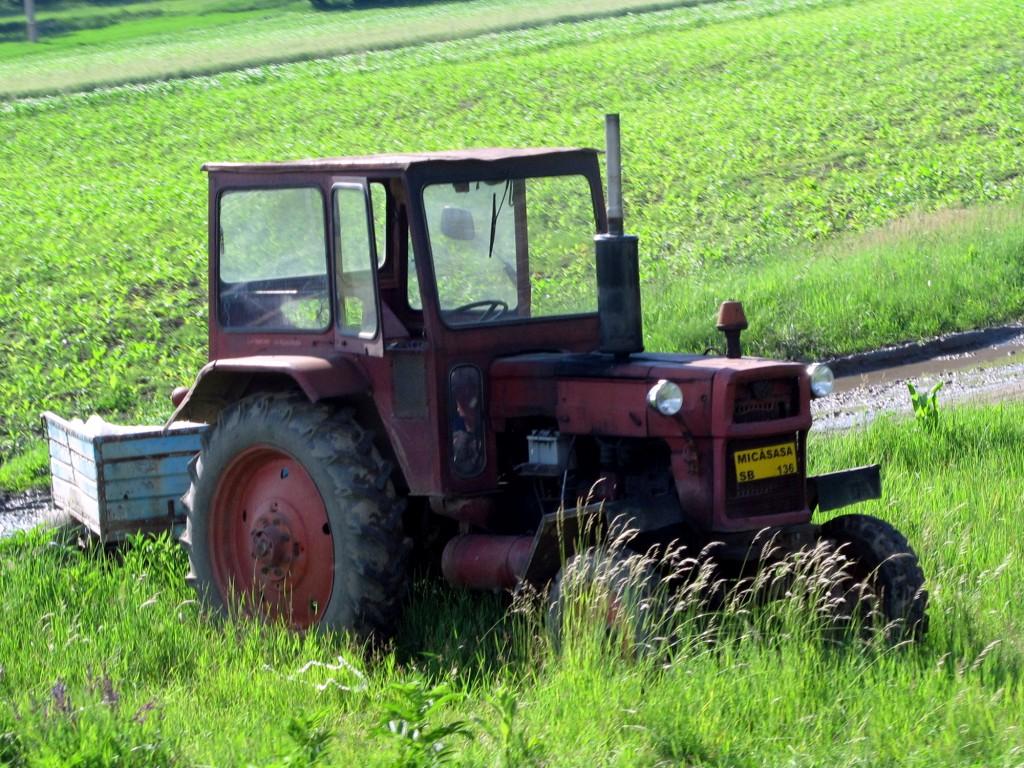 Romanian tractor