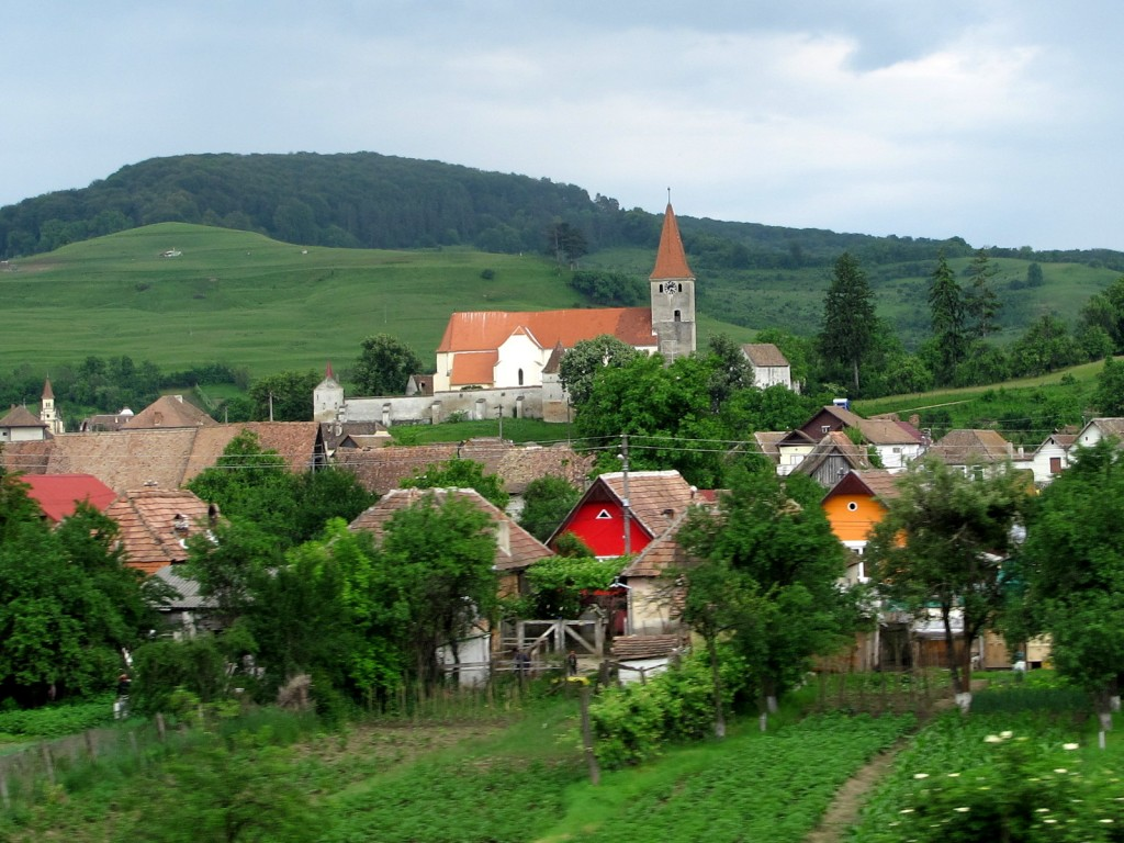 Beautiful Transylvanian township