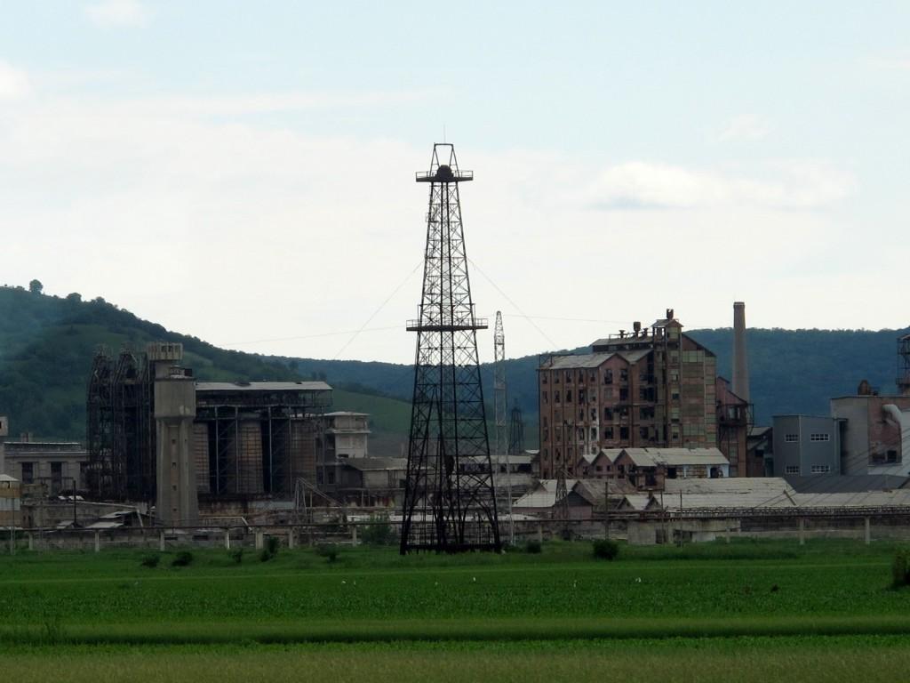 Factories in Transylvania