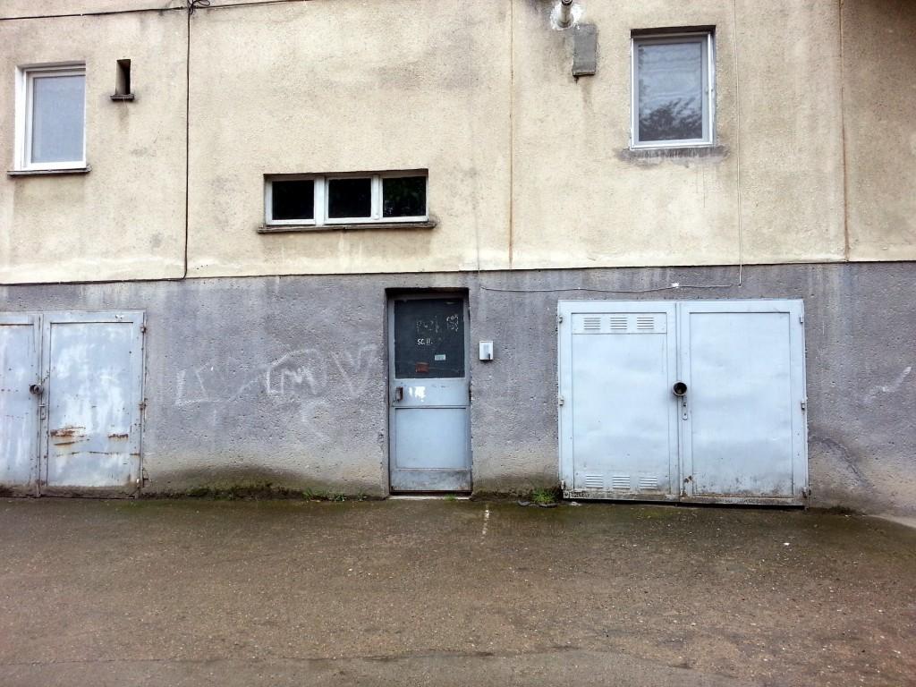 Soviet era apartment block