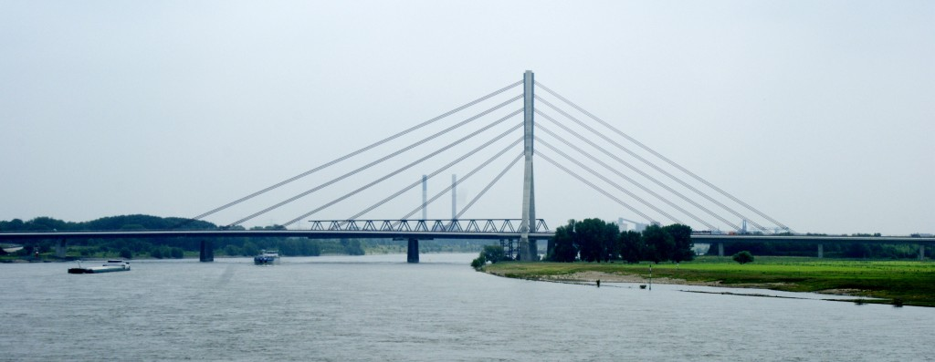 The Rhine, near Duisburg