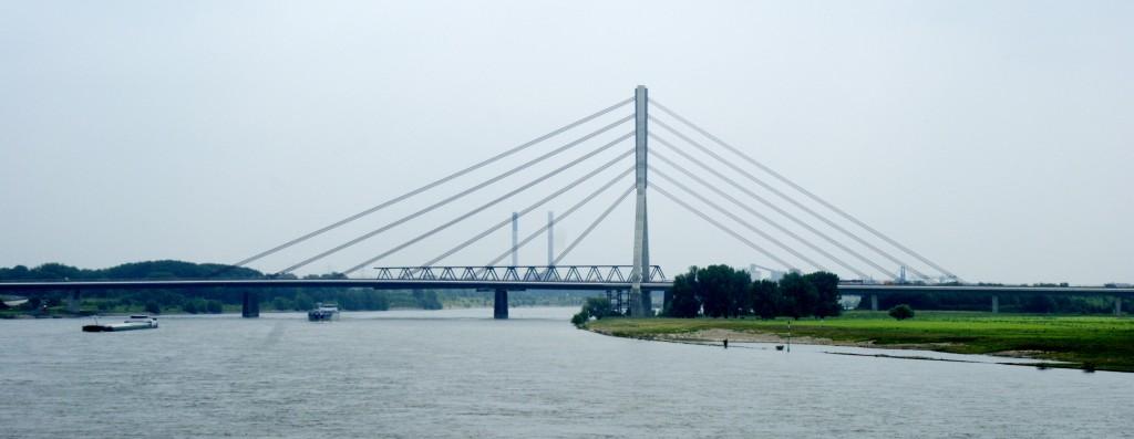 The Rhine, near Duisburg