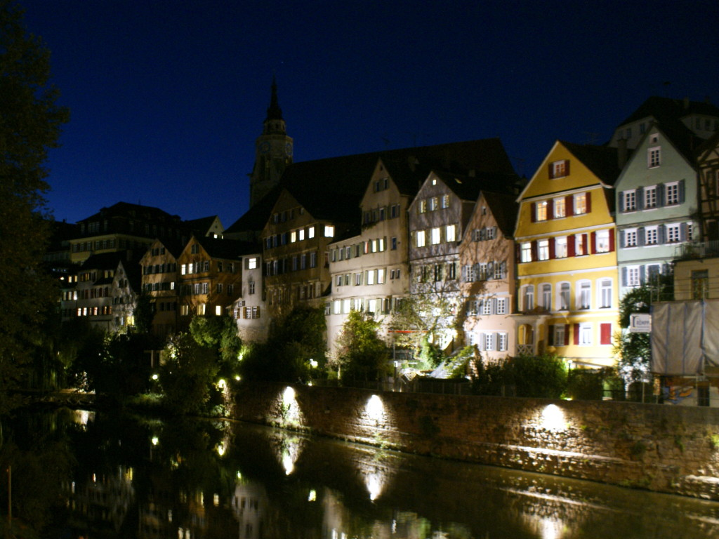 Beautiful view of Tübingen