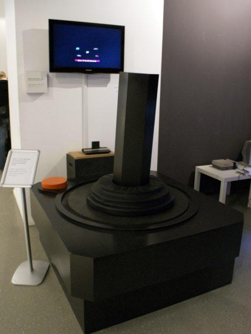 Giant Atari 2600 controller.