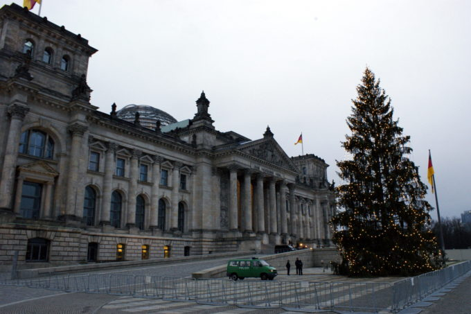 Christmas at the Reichstag