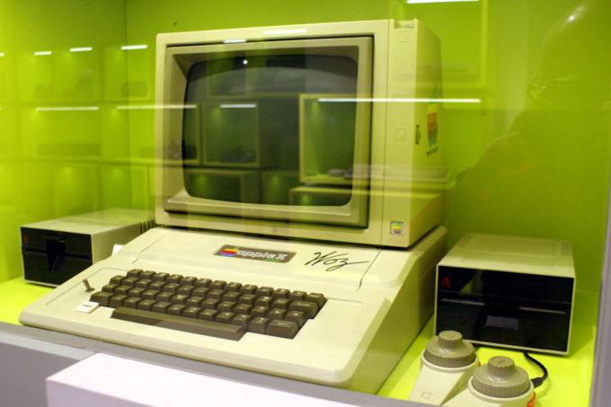 Apple II signed by Steve Wozniak