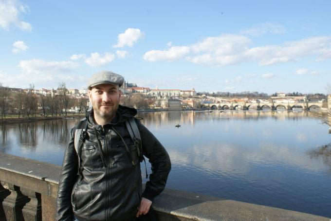 Ryan Hellyer (me) in Prague