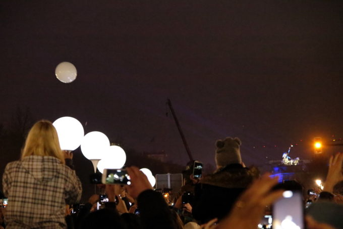 Berlin mauerfall balloons