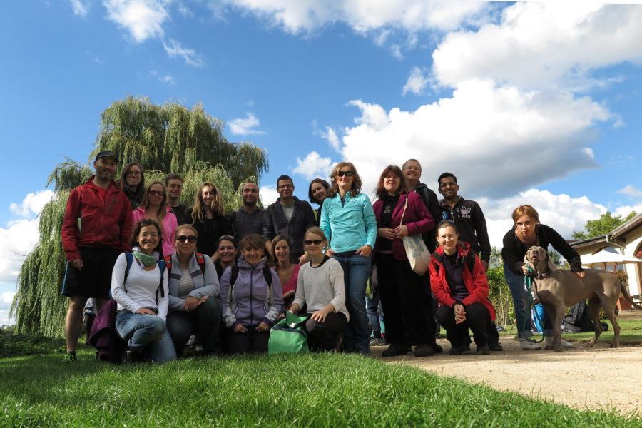 Wansee loop hike group photo