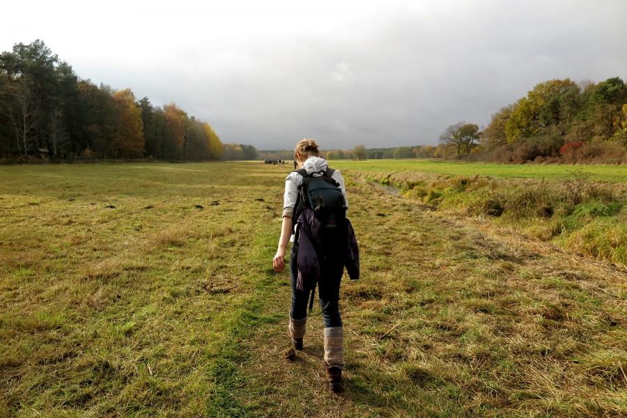 Julia on Erpetal hike